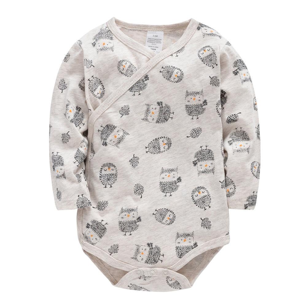 Honeyzone bodysuits para bebê menina fibra de bambu 2020 recém nascido bebê macacão pijamas bebe bonito macio infantil traje