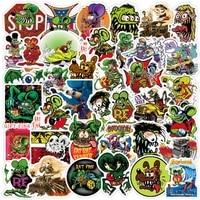 103050pcs rat fink stickers for laptop water bottle skateboard waterproof graffiti decals aesthetic sticker packs kid toys