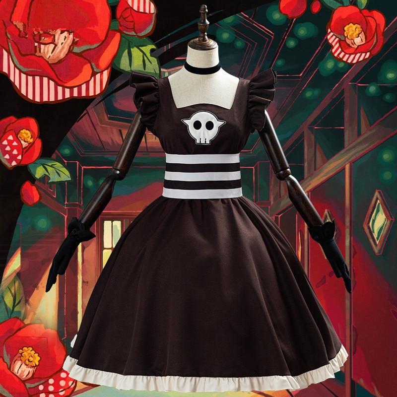 Toilet-Bound Hanako-kun Nene Yashiro Tea Party JK Dress Cosplay Costume Lolita Cos Lovely Daily Suit H
