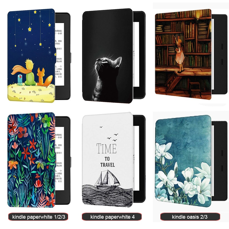 Kindle Paperwhite 4/3/2/1 (2012/2013/2015/2017/2018 Release) Case for kindle oasis 2/3 (2017/2019) Kindle 10th Gen-2019 Release