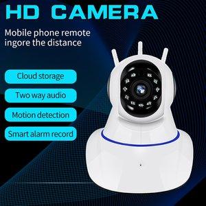 360 Degree Panoramic Wireless IP Camera Wifi IR Night Vision Voice Call Motion Detection PTZ Camera CCTV Video Surveillance