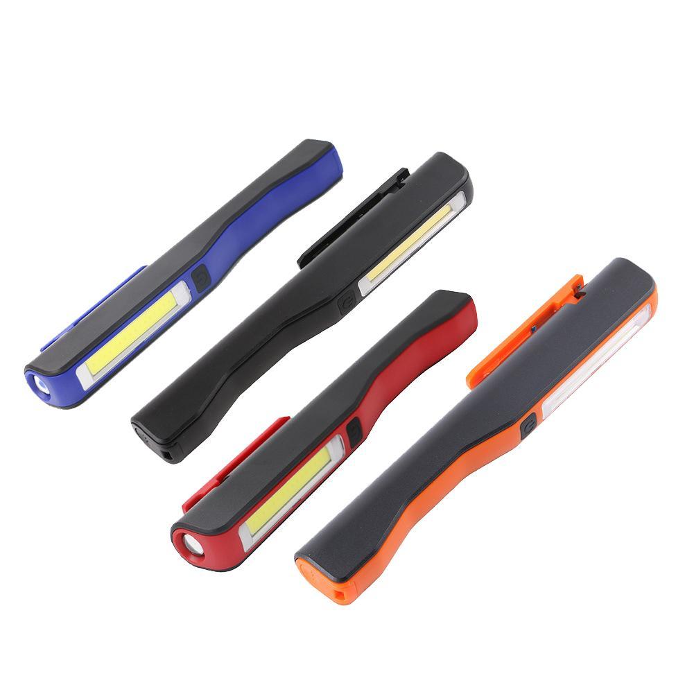 Auto COB LED Light USB akumulator inspekcja magnetyczna praca kieszonkowy długopis latarka do kontroli narzędzi lampa testowa