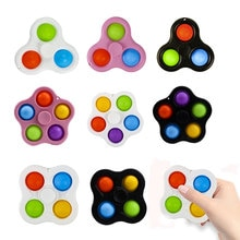 Baby Dimple Toys Silicone Push Bubble Sensory Fidget Toys Autism Stress Reliever Toys for Kids Child