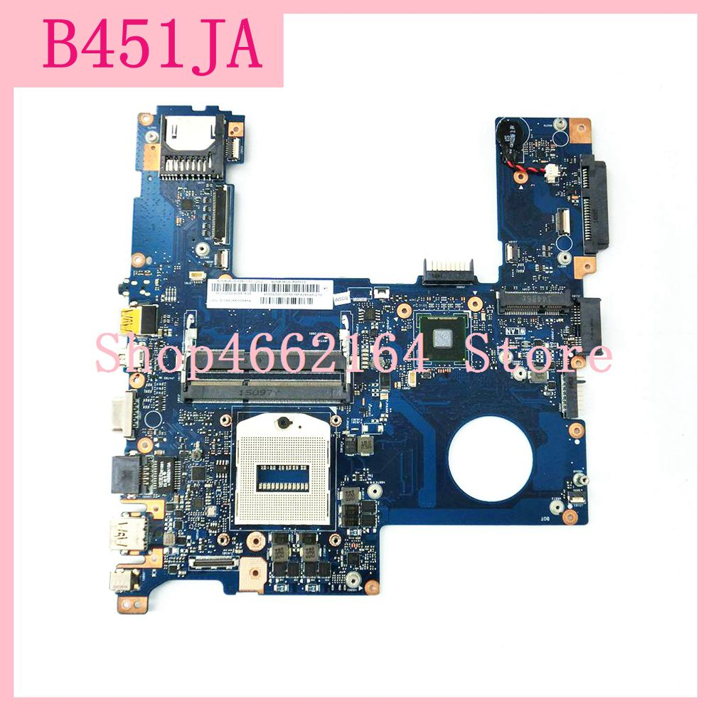 B451ja placa-mãe do portátil rev2.1 para asus b451ja notebook mainboard testado trabalho totalmente testado frete grátis