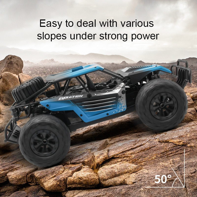 RC Car 2WD 2.4GHz climbing Car Remote Control Car with 720P HD FPV Camera 1/16 Scale Off-Road Remote Control Truck enlarge