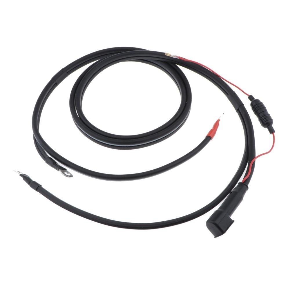 2 м батарея силовые кабели для Yamaha подвесной двигатель Универсальный