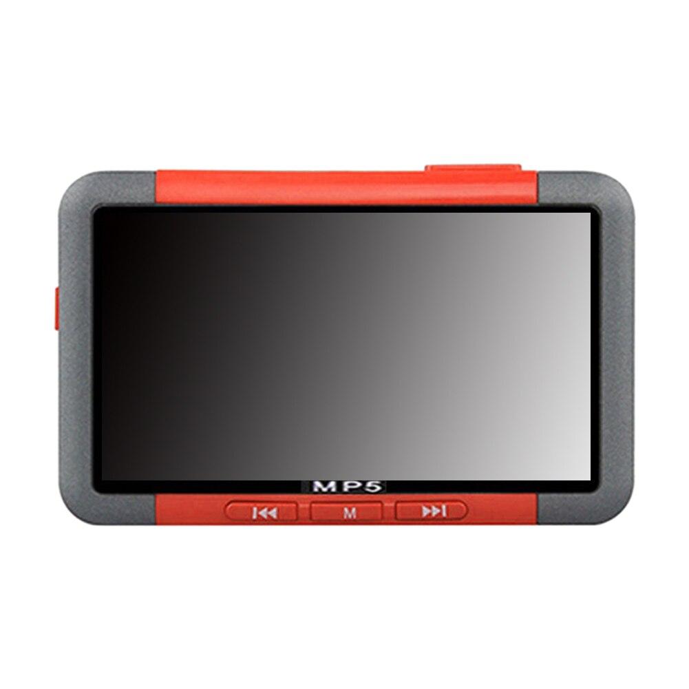 3-дюймовый видео музыка мультимедийный рекордер MP4 FM радио металлическая электронная книга HD мини MP5 плеер аудио USB зарядка ЖК-экран
