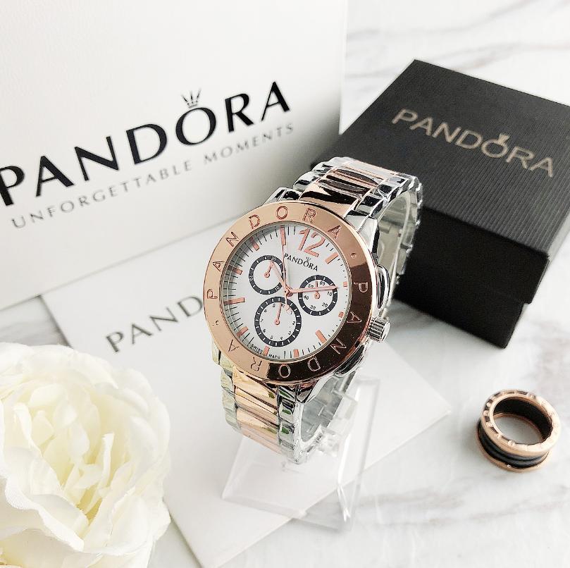 Luxury brand Quartz Ladies Watch Stainless Steel Clock Wrist Dress Women Watches Silver Bracelet Wat