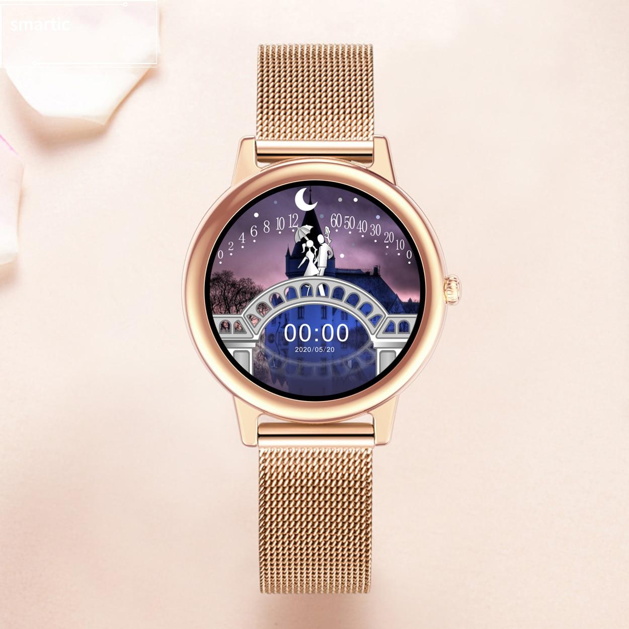 Smartic Smart Watch Men Fitness Bracelet Bluetooth Smartwatch Women IP68 Full Touch Sport Digital Wa