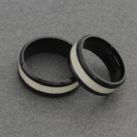 korean style mens black simple ring fashion stainless steel ring birthday gift party mens jewelry 2021