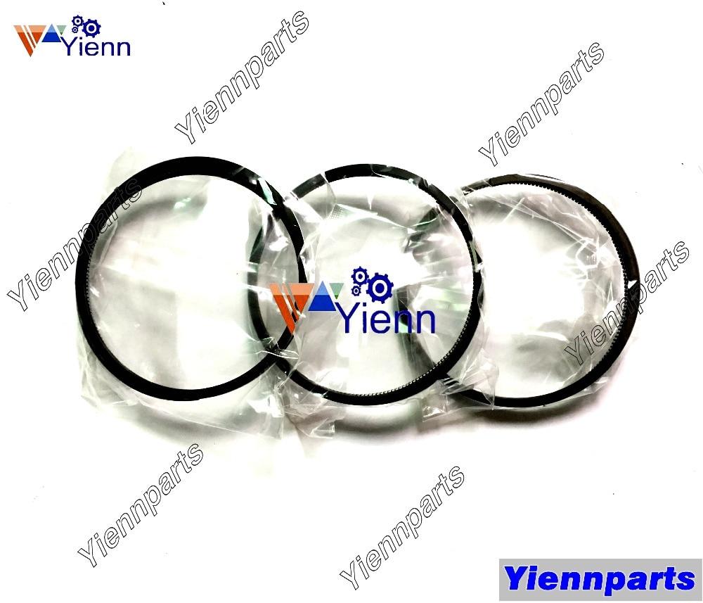 3gm30 tamanho std anel de pistão conjunto rolamento da haste conexão std para yanmar peças sobresselentes do motor marinho