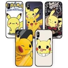 Leuke Cartoon Pikachu Voor Iphone5 6 7 8 6S 6Splus 7 8 Plus Silicone Soft Tpu Voor Iphone 5S Se Telefoon Case Voor Iphone X Xr Xs Xsmax