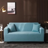 solid corner couch cover sofa covers for living room elastic l shaped chaise longue slipcovers chair protector 1 4 seater 2pc