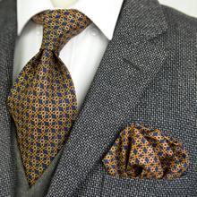 Cravates géométriques multicolores pour hommes   À motif Floral fait à la main, poches, nœud papillon carré, 100% soie imprimé, costume élégant, cadeau pour hommes