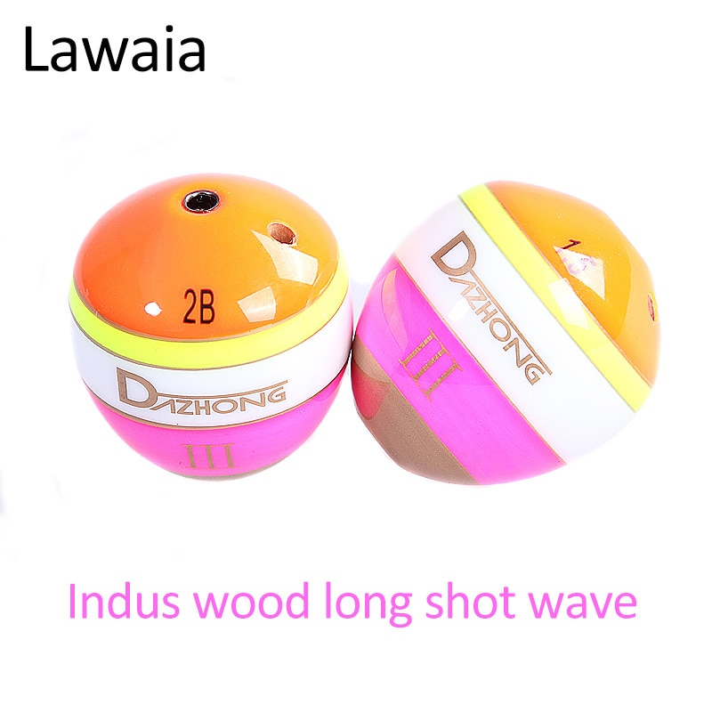 Lawaia Fishing Float Floating Fishing Bobber Long Shot Eye-catching Color Wave Sycamore Wood Quality Sea Fishing Accessories enlarge