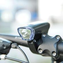 Ajustable 3 modos de bicicleta lámpara de luz delantera bicicleta Faro de bicicleta de ciclismo linterna LED Lanter luces de advertencia de seguridad de conducción nocturna