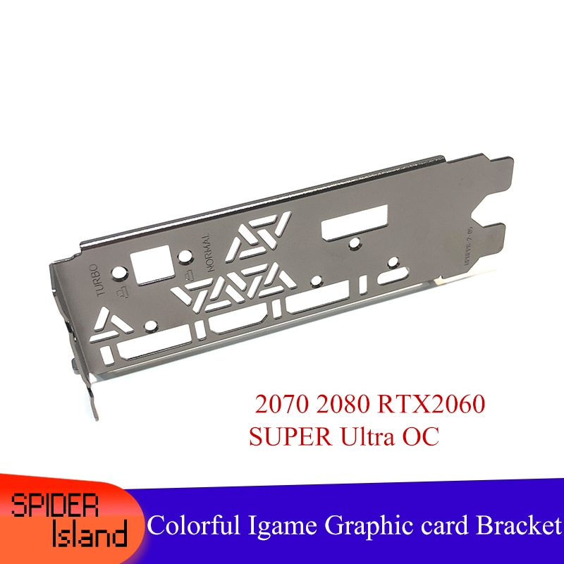 1/5/20pcs 12CM Baffle High Proflie Bracket for Colorful Igame RTX 2070 2080 RTX2060 SUPER Ultra OC Graphic card Baffle