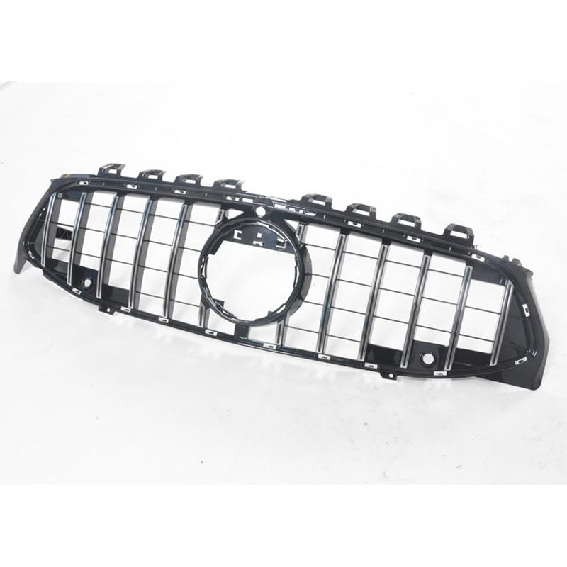 Para mercedes-benz CLA W118 C118 Car styling rejilla media ABS plástico AMG Diamond GT rejilla frontal vertical bar