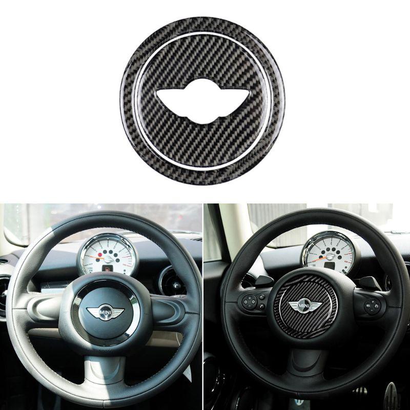 Fibra de carbono volante pegatinas cubierta recortada para Mini Cooper Clubman R55 R56 countyman R60 Paceman R61 Accesorios