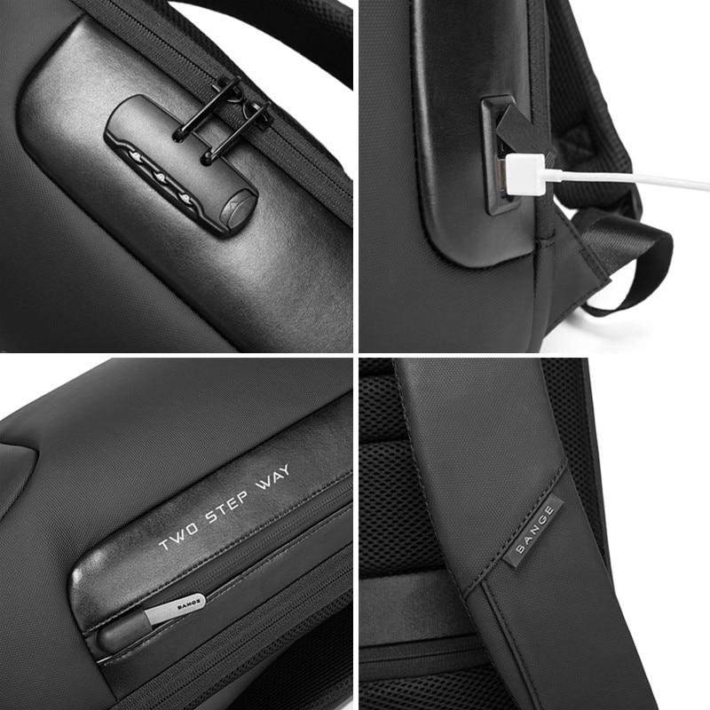 Waterdichte anti-dief rugzak geschikt voor 15,6 inch laptop, - Rugzakken - Foto 4