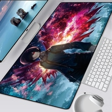 90x40cm Gamer Speed Mice Mouse Pad Large Rubber Mousepad Anime XXL Mouse Pad Keyboard Mats Notbook C