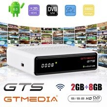 Oryginalny GTMEDIA GTS 2GB 8GB 4K Amlogic S905D Smart TV BOX Android 6.0 Wifi 1080P 4K Youtube zestaw obsługa dekodera Xtream Stalker