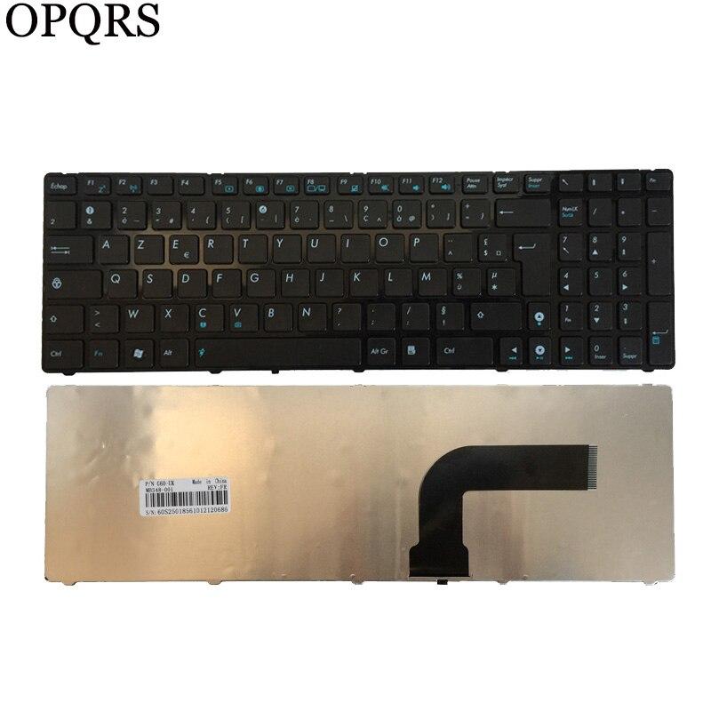 لوحة مفاتيح الكمبيوتر المحمول الفرنسية ، لـ Asus R704 ، R704A ، R704VB ، R704VC ، R704VD ، FR ، أسود ، جديد