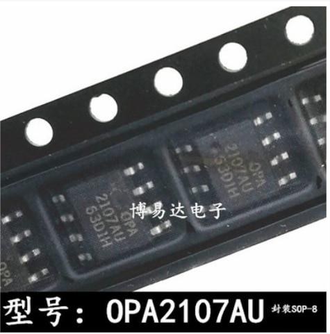 شحن مجاني 30 قطعة OPA2107AU OPA2107 SOP-8
