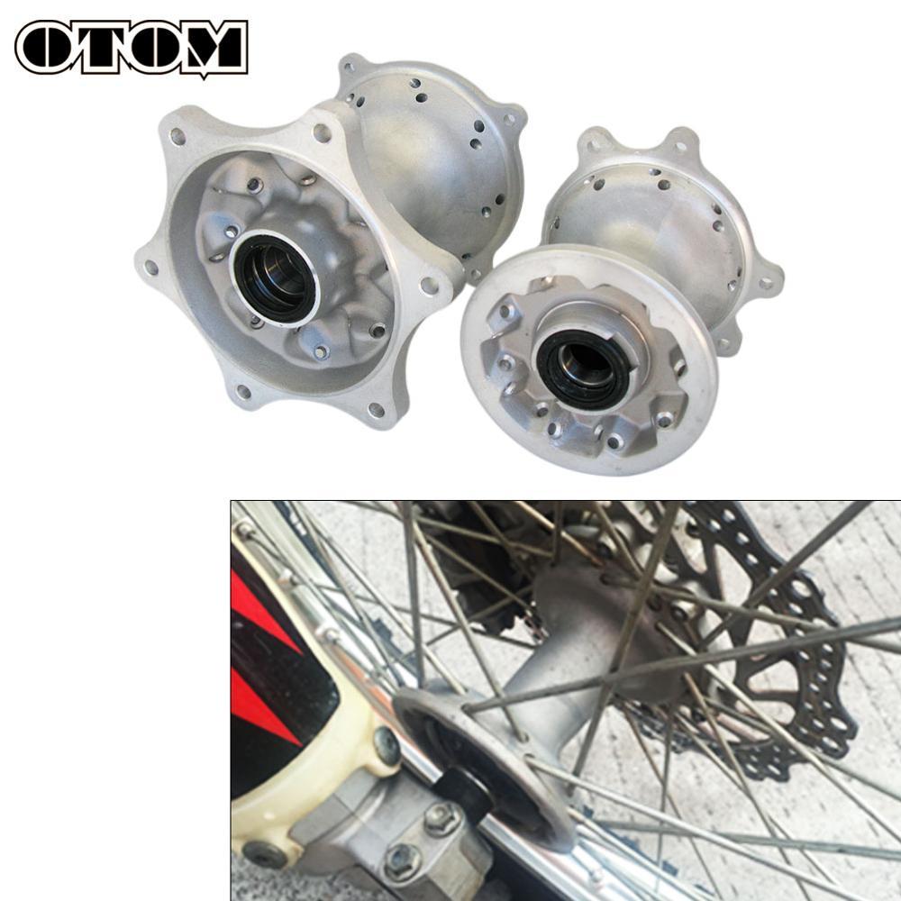 OTOM CNC-محور عجلة ألمنيوم للدراجات النارية ، 36/32 فتحة, محاور العجلات الأمامية والخلفية لهوندا CRF250R CRF250X CRF450R CRF450X Dirt Bike
