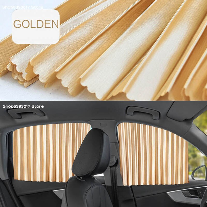 Car Side Window Sun Shade Cover Anti UV Protection Curtain Retractable Cushion For Skoda Kodiaq 2020 2019 2018 2017 Car Stylings