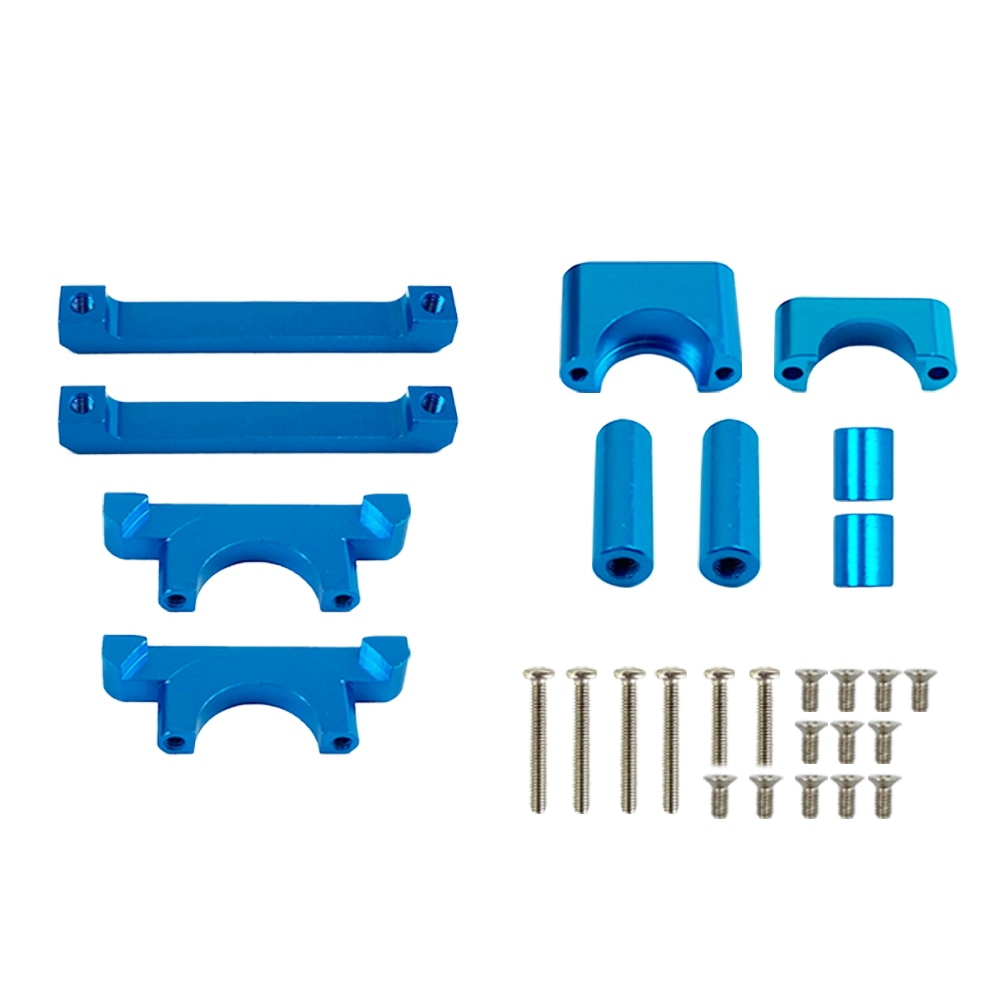 Aluminum Upgrade Metal Metal Chassis Parts For WLtoys A959 A979 A959B A979B 1/18 4WD RC Car Accessories enlarge
