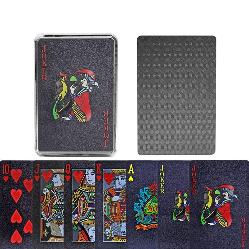 pvc-negro-de-poker-impermeable-de-plastico-de-juego-de-cartas-de-fiesta-juego-de-mesa-scrub-poker