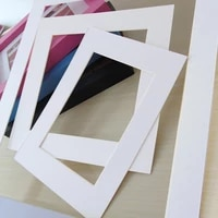white photo mats rectangle paper mounts for 6781016 inch a4 a3 photo frames decor picture mat paper picture frame
