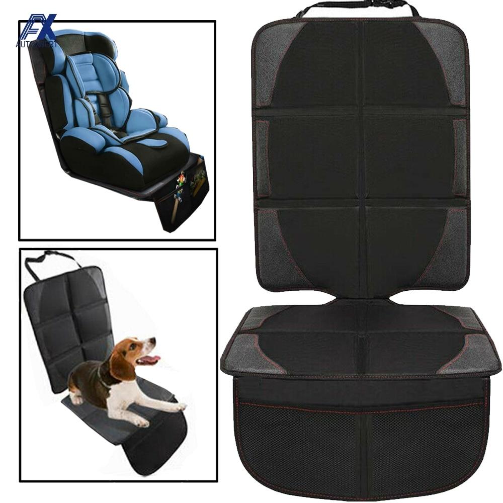 Чехол для автомобильного сиденья, защитный коврик для детского сиденья, протектор для автокресла, коврик-органайзер для питомцев с защитой ...