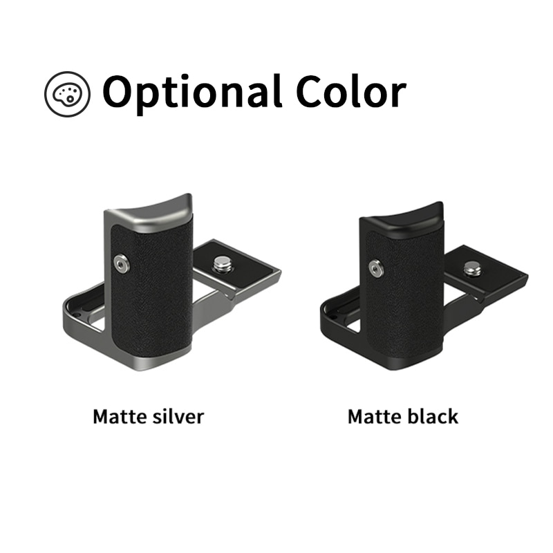 YC Onion Camera Quick Release L Plate Holder Hand Grip For Fujifilm X100V L Bracket Rabbit Cage Kit enlarge