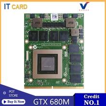 GTX680M GTX 680M GDDR5 2 Гб N13E-GTX-A2 видеокарта для ноутбука DELL Alienware M15X M17X R4 M18X R1 R2 R3 R4 100% ТЕСТ ОК