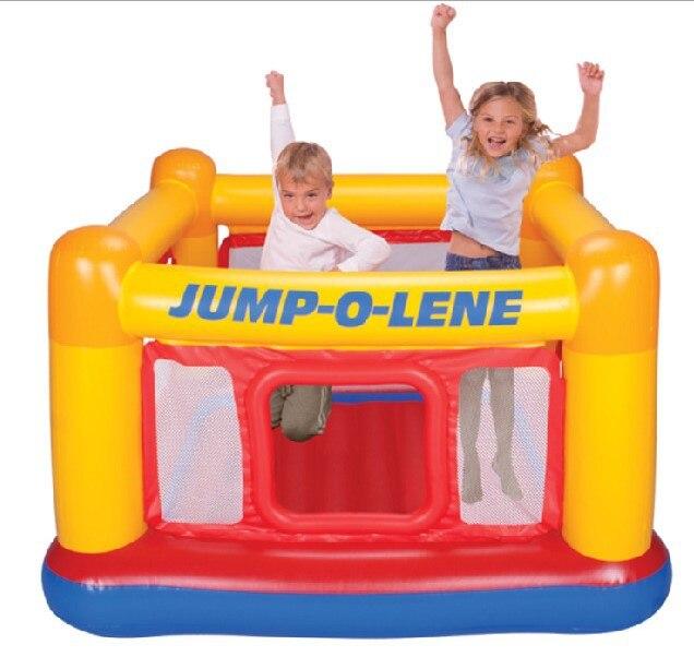 INTEX 48260 Inflatable castle indoor trampoline indoor jumping fun parent-child children's amusement toy