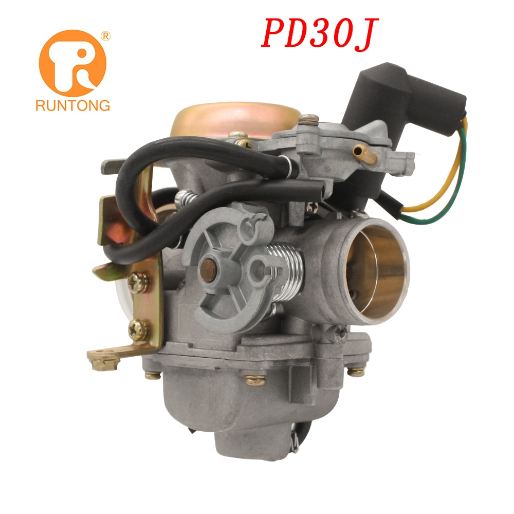 Runtong 30mm 250cc motor carburetor with e-choke PD30J CF250 CH250 CN250 Propeller Qlink 4 STROKE for off road carburetor
