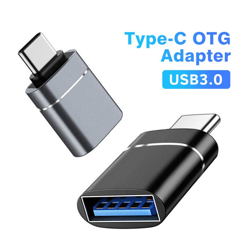 Переходник ANMONE с Type C на USB 3,0 OTG, USB-C переходник «папа» на USB «мама» для Macbook, Samsung S20, Xiaomi, Huawei, USBC, OTG   Мобильные телефоны и аксессуары   АлиЭкспресс