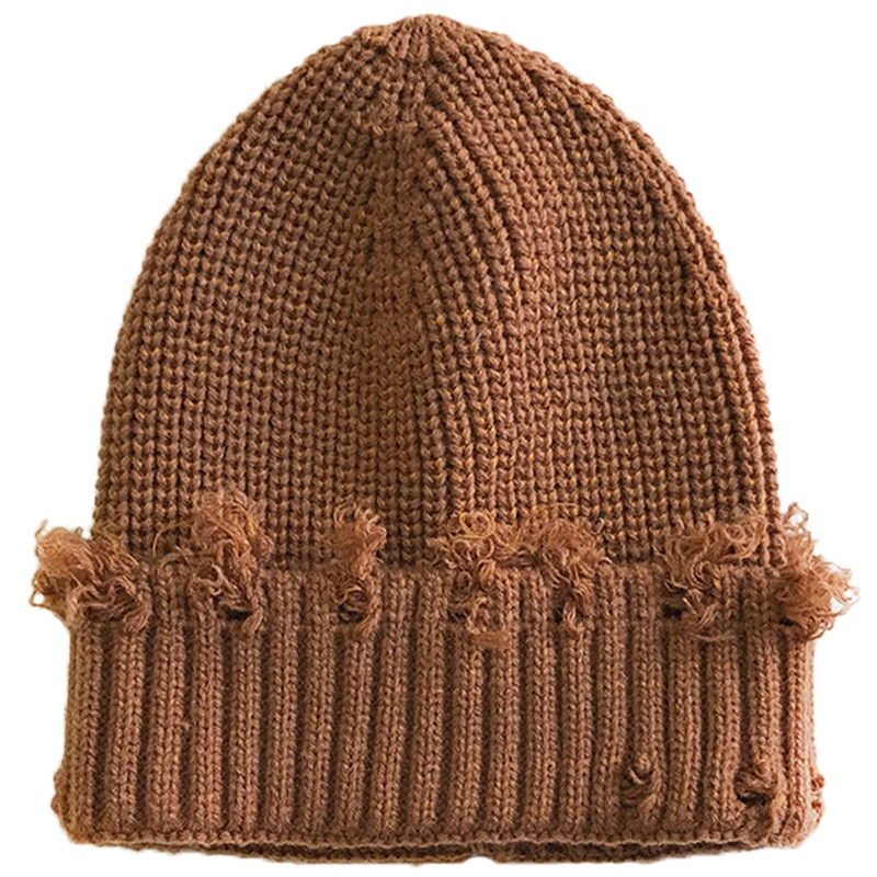 Зимние шапки для мужчин и женщин, облегающие шапки, вязаные шапки для девочек, осенние женские облегающие шапки, теплая шапочка, Женская Пов...
