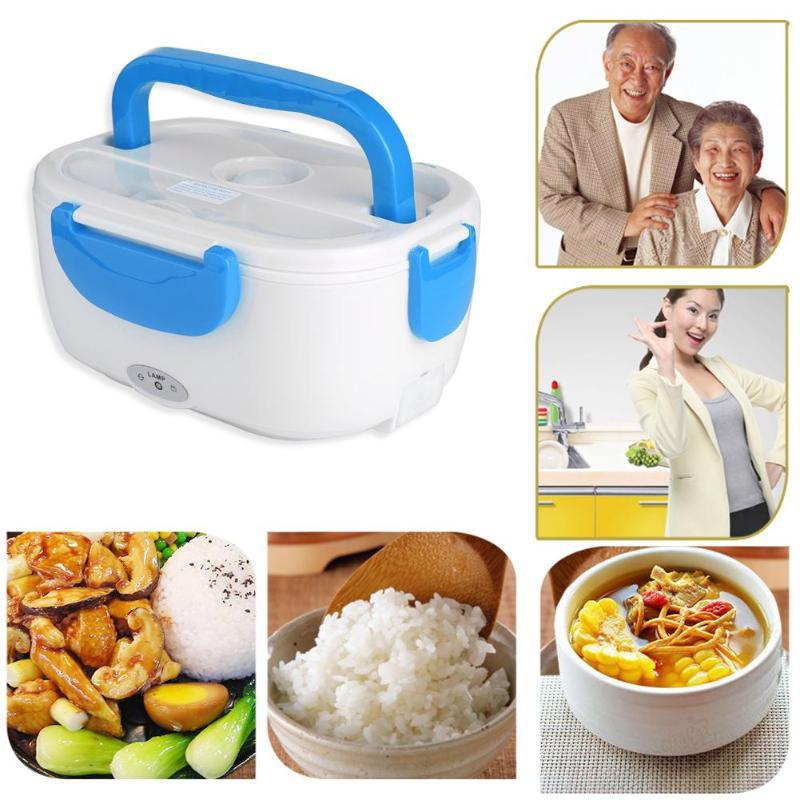 110/220V Lunch Box Food Container Portable Electric Heating Food Warmer Heater Rice Container Dinner