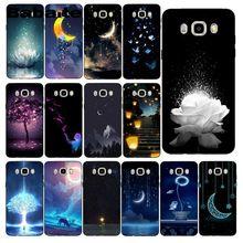 Babaite السماء المرصعة بالنجوم مشرقة المشهد الفن ارتفع غطاء إطار هاتف محمول لسامسونج غالاكسي J7 J6 J8 J4 J4Plus J7 DUO J7NEO J2 J7 Prime