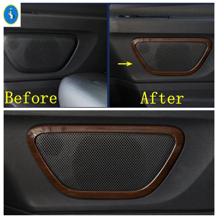 Yimaautotrims Side Car Door Stereo Speaker Audio Sound Loudspeaker Cover Trim Fit For Mercedes-Benz Vito W447 2014 - 2021 enlarge