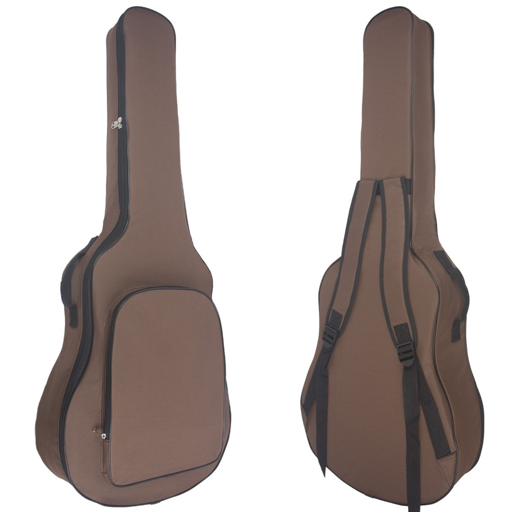 38 40 41inch Guitar Bag Carry Case Backpack Oxford Acoustic Folk Guitar Big Bag with Double Shoulder Straps Guitar Accessories enlarge
