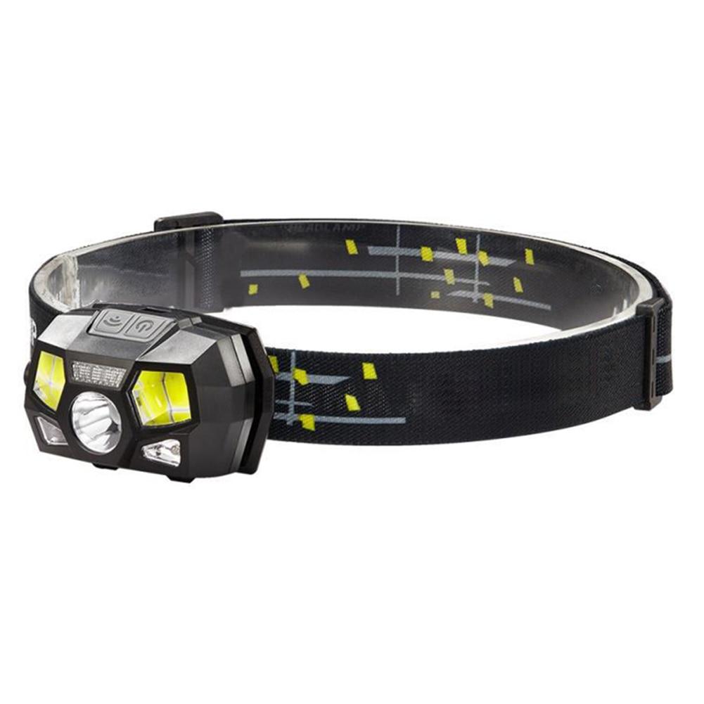 Portátil mini lanterna usb recarregável led farol cabeça lâmpada lanterna de acampamento à prova dwaterproof água farol luz da noite j99store