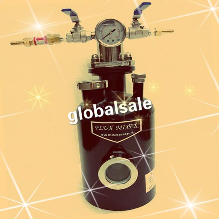 Envío Gratis RD-160B generador de flujo de soldadura de acetileno propano tanque de soldadura de flujo de gas 4L capacidad máxima equipo de soldadura