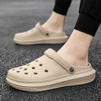 2021 new men sandals summer flip flops slippers men outdoor beach casual shoes cheap male sandals water shoes sandalia masculina