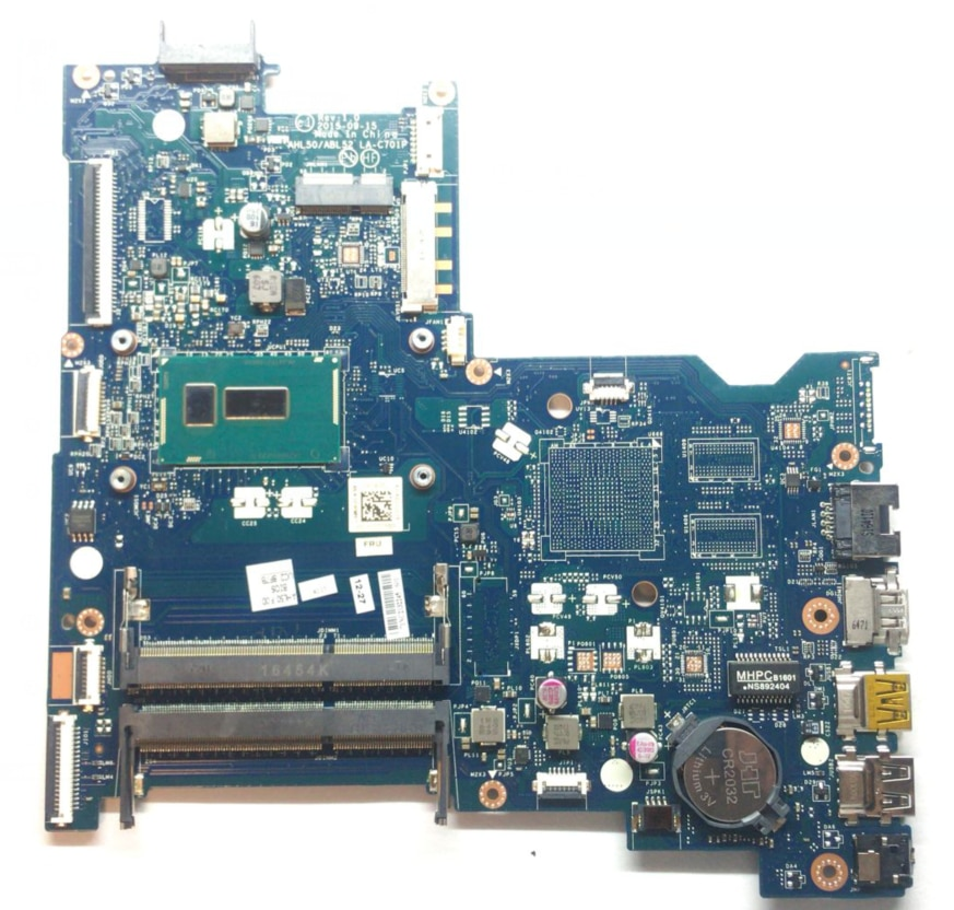KEFU AHL50/ABL52 LA-C701P اللوحة الأصلية ل HP 15-AC 250 G4 مع I5 5200U اللوحة المحمول 815244-501