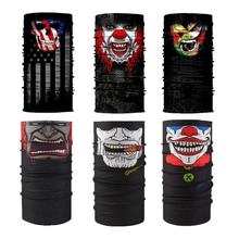 2021 New Europe and The United States Explosive Variety Magic Headscarf Mask Bib 3D HD Fahion Digita