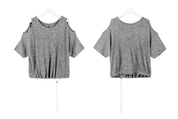 T Shirt Women Clothes 2020   Fashion  Tee Top Fashion gray Cotton Ladies Tee  Shirt korean clothes